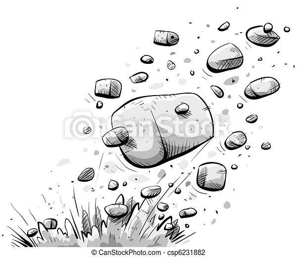 Clip art de exploser rocher dessin anim rocher explose depuis csp6231882 recherchez - Rocher dessin ...