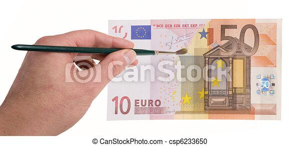 increase money with creativity - csp6233650