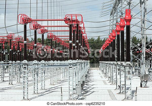 High Voltage Station Connectors - csp6235210