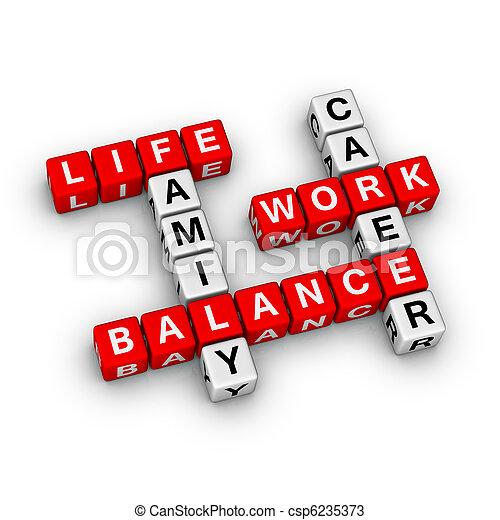 Work and Life Balance - csp6235373