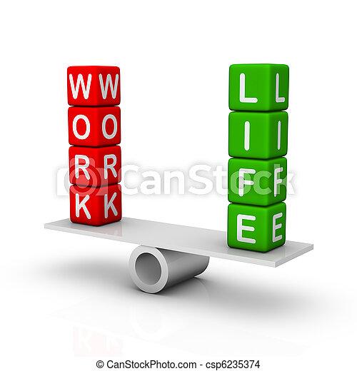 Work and Life Balance - csp6235374