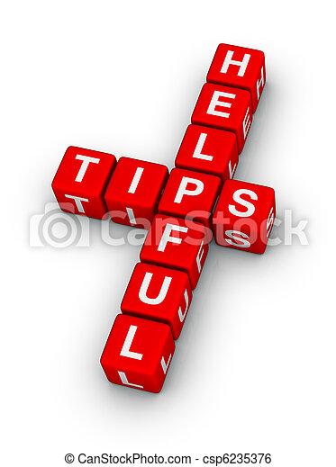 helpful tips - csp6235376