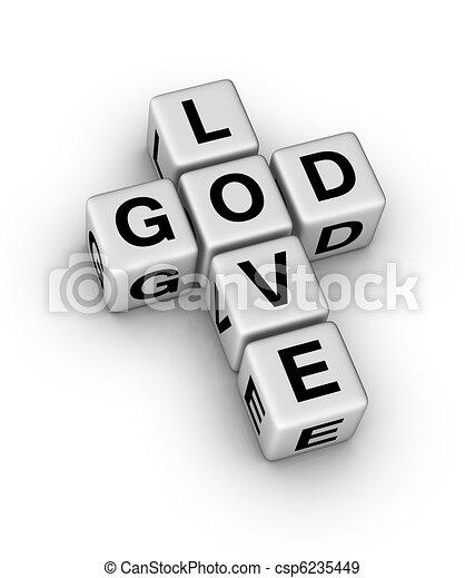 God is Love - csp6235449