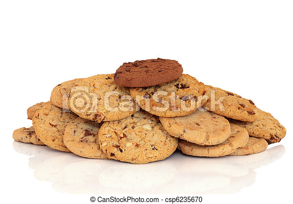 Chocolate Chip Cookies - csp6235670