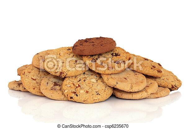 Chocolate Chip Cookies - csp6235670