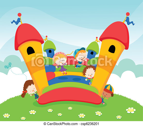 Jumping Castle - csp6236201