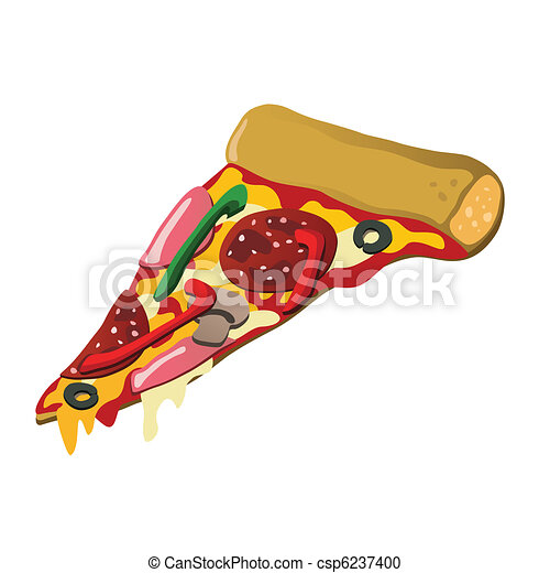 Pizza slice - csp6237400