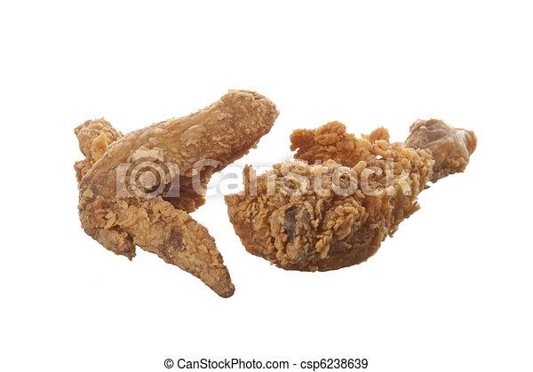 sült, csirke, Szárny, láb - csp6238639