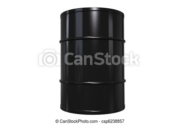Oil Drum, Copy Space - csp6238857