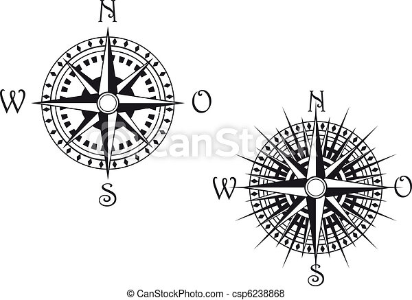 Compass symbol - csp6238868