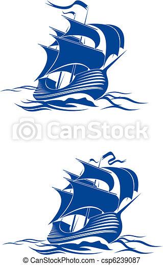 Brigantine ship - csp6239087