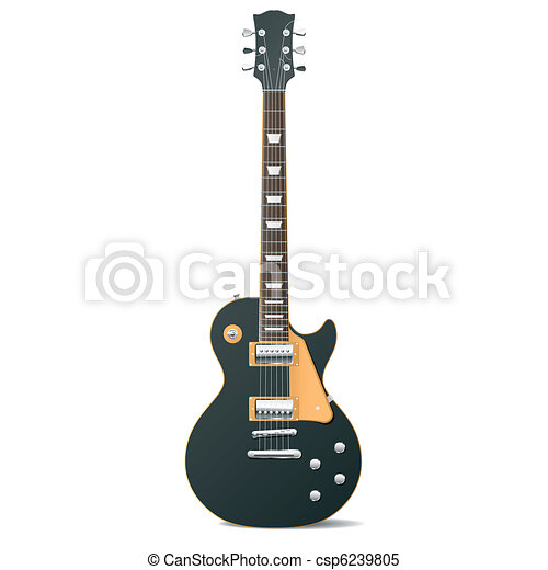 Electric guitar - csp6239805