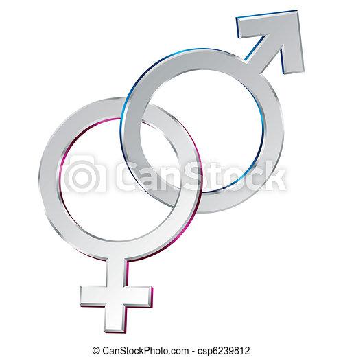 Sexual union symbol - csp6239812