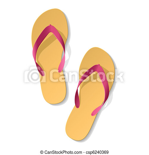 Flip-flop. Sandals. - csp6240369