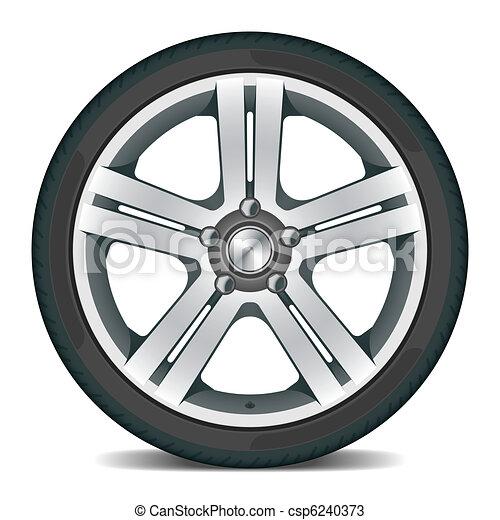 Car wheel - csp6240373