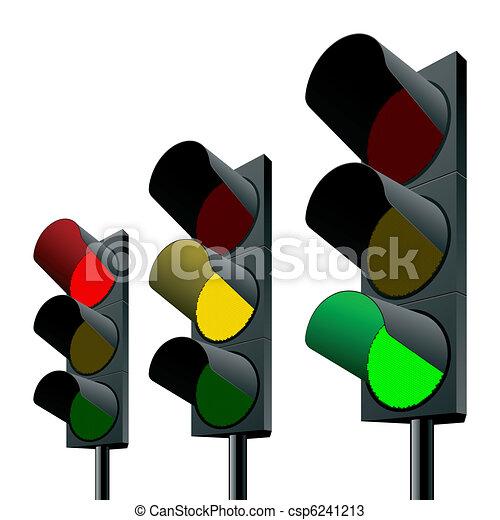 Traffic lights - csp6241213