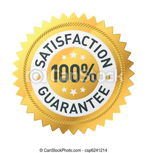 Guarantee label - csp6241214