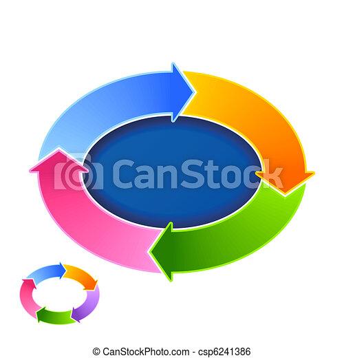 Circular arrows - csp6241386