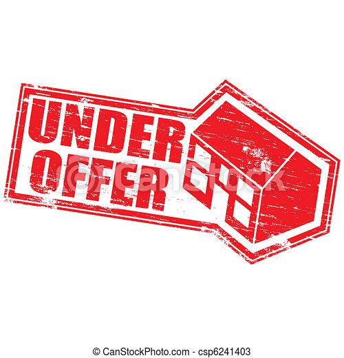 Under Offer Stamp - csp6241403