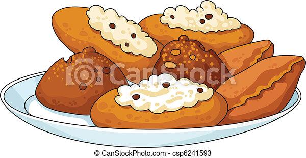 tasty pastry - csp6241593