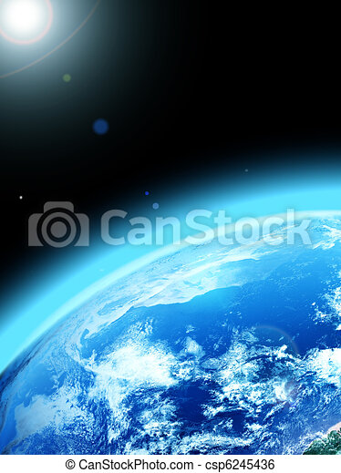 planet earth - csp6245436