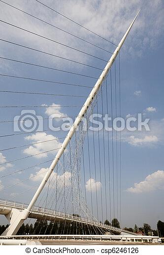Calatrava, brug - csp6246126
