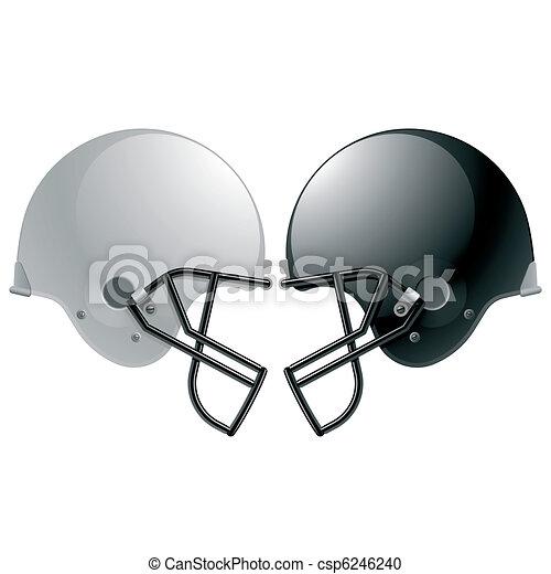 Football helmets - csp6246240