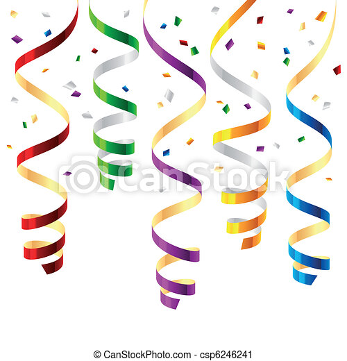 Party streamers - csp6246241