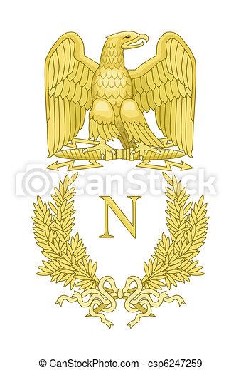 French Napoleonic Standard - csp6247259