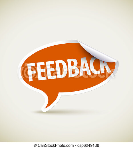 Feedback - speech bubble - csp6249138