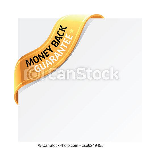 Money back guarantee sign - csp6249455
