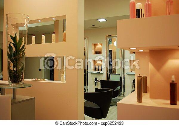 Hair salon - csp6252433