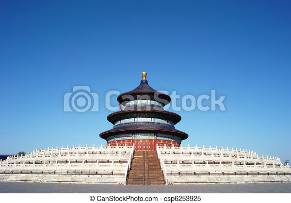 Temple Of Heaven, Beijing - csp6253925