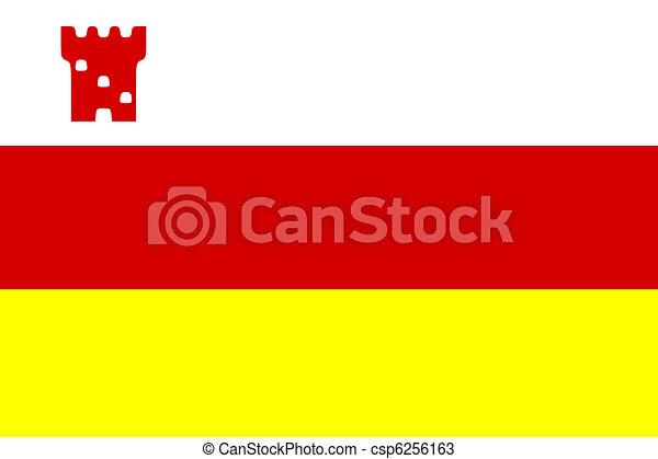 Santa Barbara flag - csp6256163