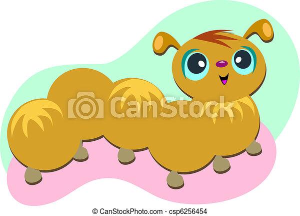 Furry Caterpillar - csp6256454