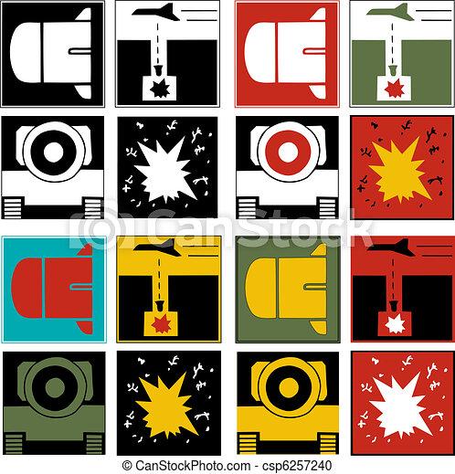Logos of War - csp6257240