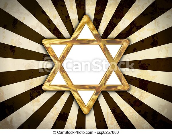Star of David - csp6257880