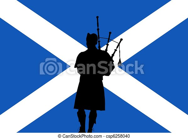 Bagpiper Illustrations and Clipart. 456 Bagpiper royalty free ...