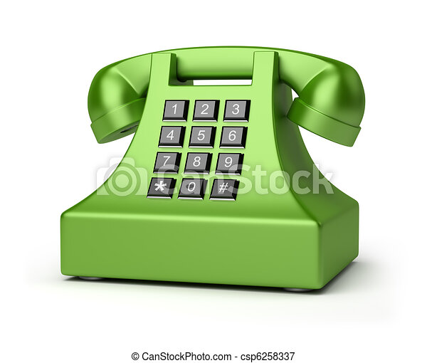 telephone - csp6258337