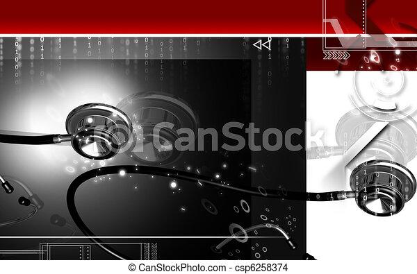 Stethoscope  - csp6258374