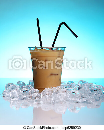 Cold coffee drink - csp6259230