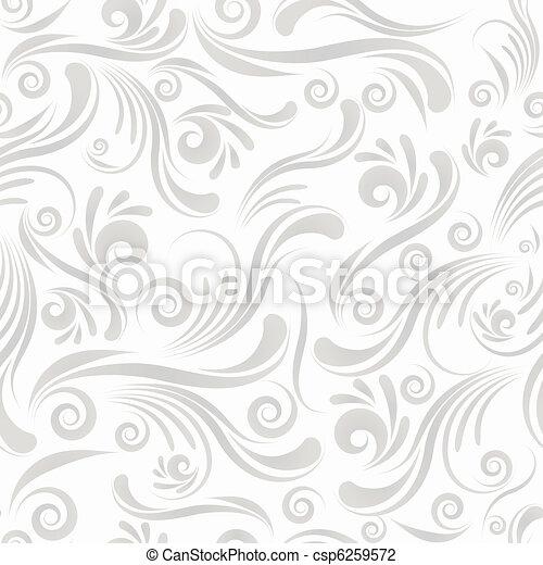 Seamless swirl ornament - csp6259572