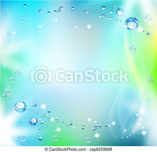Blue abstract background  - csp6259698