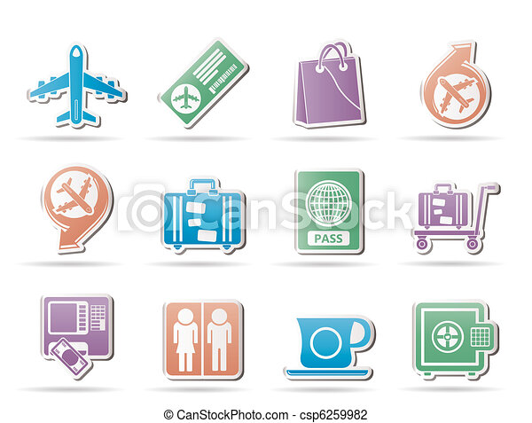 airport, travel and transportation  - csp6259982