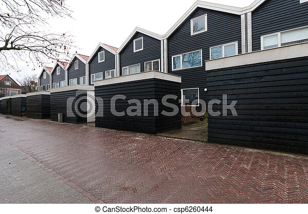 terraced houses - csp6260444