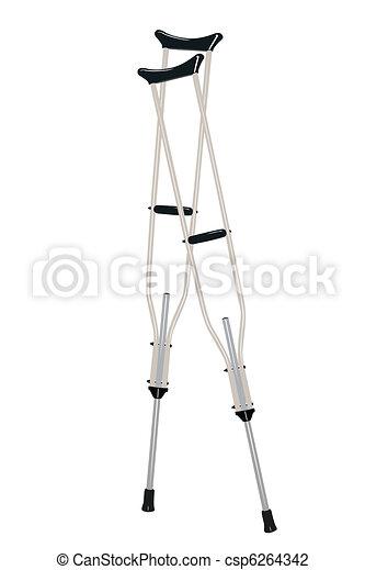 crutches - csp6264342