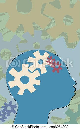 Thinking Person - csp6264392