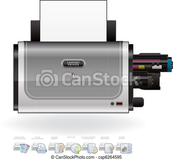 LaserJet Printer - csp6264595