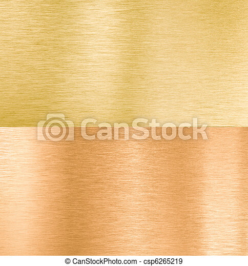 copper and gold metal textures - csp6265219