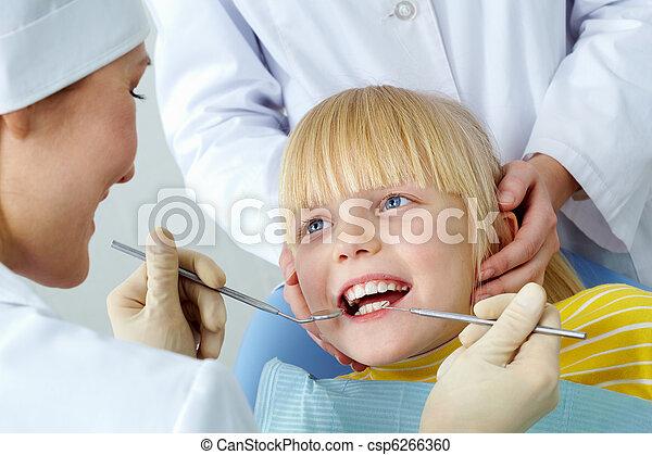 vérification, dentaire - csp6266360